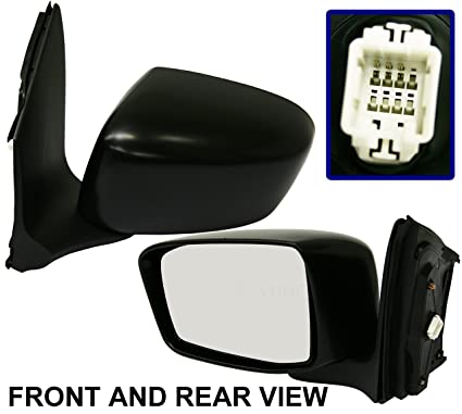 Folding Power Heated Side View Mirror Driver Left LH for 05-10 Honda Odyssey