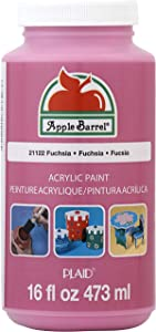 Apple Barrel Acrylic Paint in Assorted Colors (16 Ounce), 21122 Fuchsia