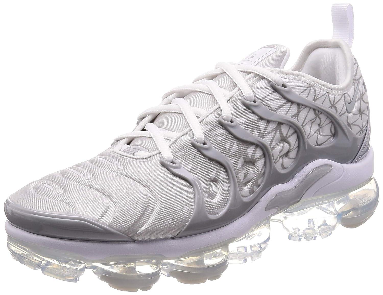 Nike Air Vapormax Plus, Hauszapatos de Atletismo para Hombre MultiColor (blanco Metallic plata Wolf gris 106)