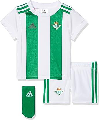 Puntero Lugar de la noche traqueteo  adidas Betis H Baby Conjunto Equipación, Unisex Adulto: Amazon.es: Deportes  y aire libre