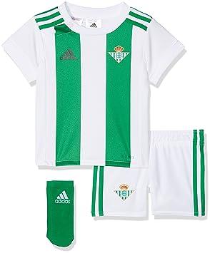 Adidas Real Betis Conjunto, Unisex bebé, Blanco, 68-3/6 Meses: Amazon.es: Deportes y aire libre