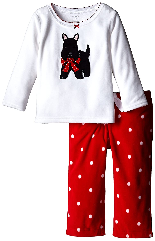 53a742f0d Amazon.com  Carter s Baby Girls  2 Piece Holiday PJ Set (Baby ...