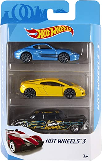 Hot Wheels Mattel (3 Pack) Design May Vary