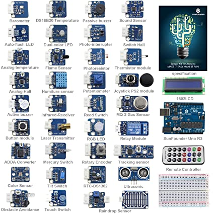 Arduino Sensor Kit (37 Module)