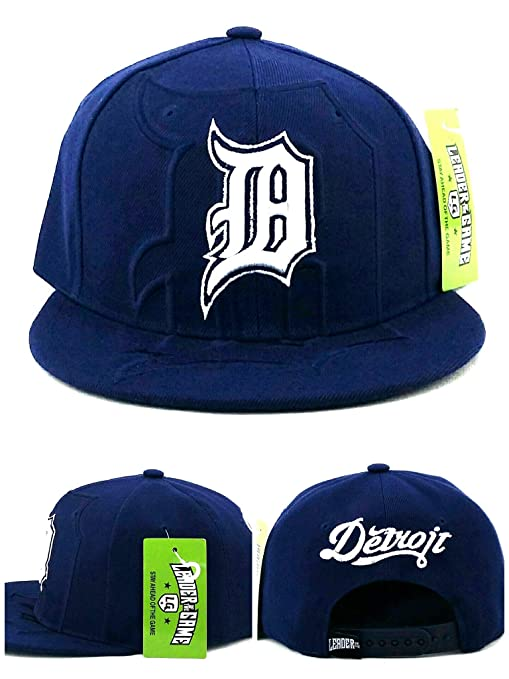 Detroit New Leader City Shadow D Script Tigers Gorra de Colores ...
