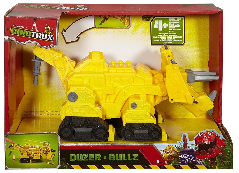 Mattel DPC99 - Dinotrux Hero Sounds Bullz Fahrzeug Mattel GmbH