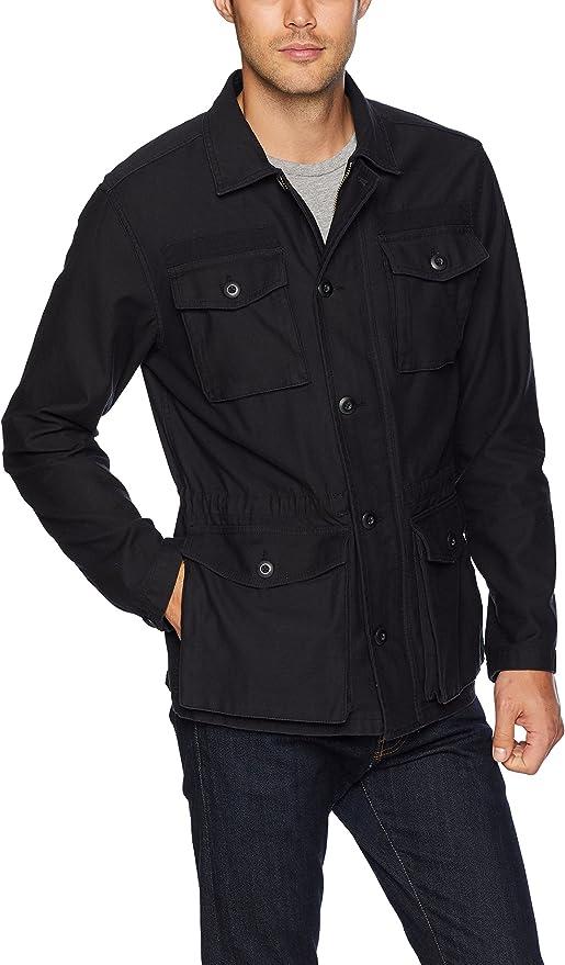 Goodthreads Military Broken Twill Jacket Camicia Uomo