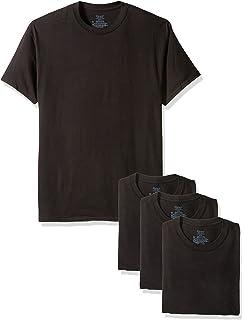 0fc514cc0 Amazon.com: Hanes Ultimate Men's 3-Pack FreshIQ Crew Neck Tee: Clothing