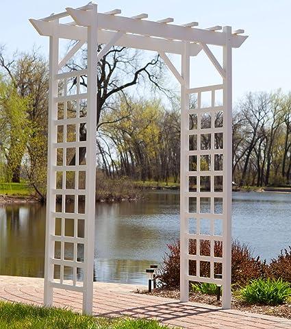 Amazon.com : Garden Pergola Wedding Arbor Outdoor Patio Decoration ...