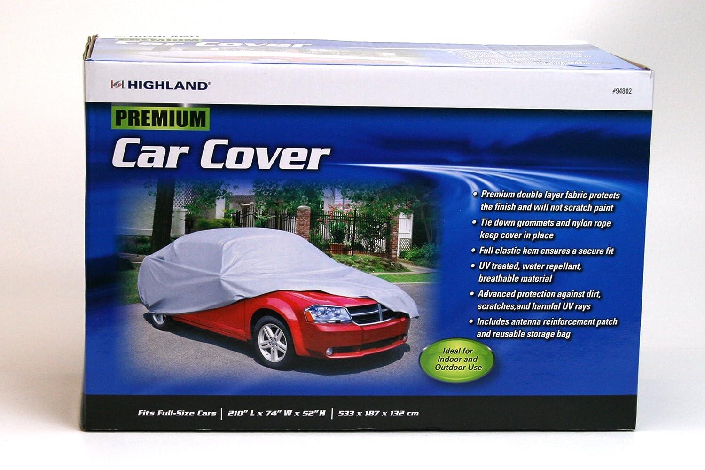 Highland 9480200 Premium Car Cover With Storage Bag