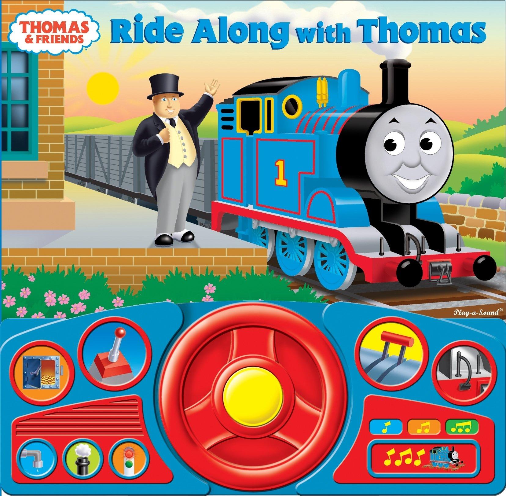 Thomas & Friends Steering Wheel Sound Book: Ride Along with Thomas (Thomas the Tank Engine) PDF ePub book