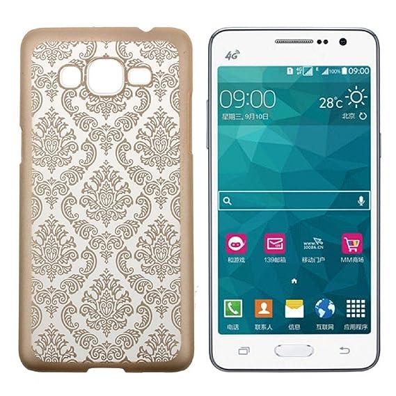 buy online 71fc3 78929 Samsung Galaxy Grand Prime Case, Samsung Galaxy Go Prime Case, Ultra Thin  Vintage Damask Hard Case For Samsung Galaxy Grand Prime / Galaxy Go Prime,  ...