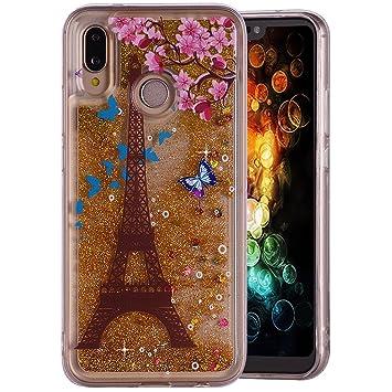 Carcasa Huawei P20 Lite/Nova 3e, Amcor Love 3d Glitter ...