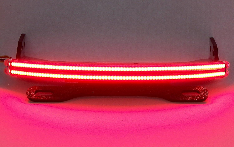 and Turn Signal Kit with Tag Light and Bracket for Honda Fury LED Fender Eliminator Integrated Running Light Brake Light Clear Lens