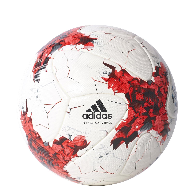 adidas Ekstraklasa Omb Balón de Fútbol, Hombre, (Blanco/Rojo ...