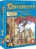 Asmodee - CARC05 -  Jeu de stratégie - Extension 3 - Princesse et Dragon pour Carcassonne