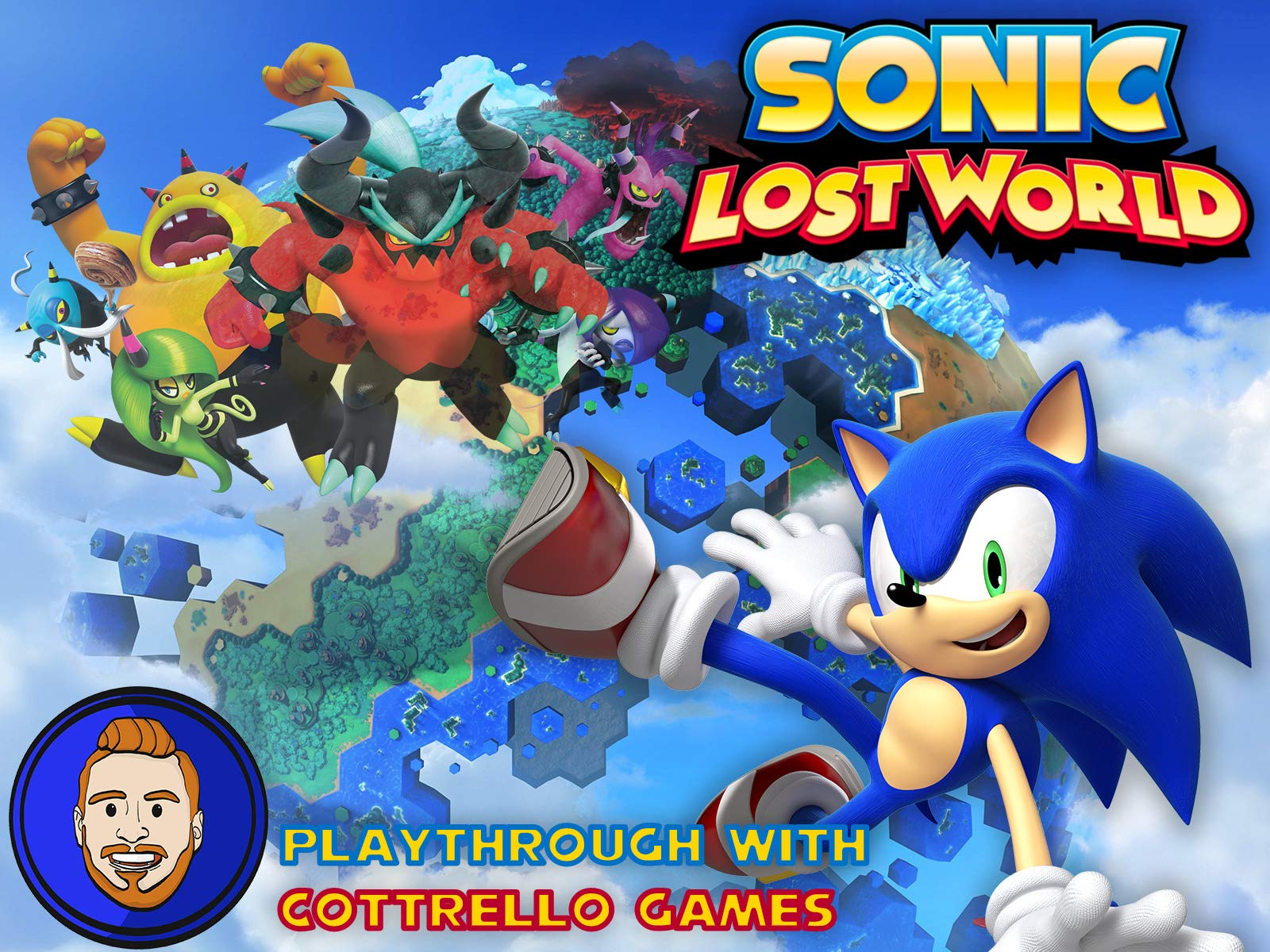 Sonic Lost World Playthrough with Cottrello Games