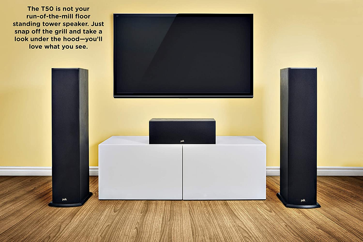 Polk T50 150 Watt Home Theater Floor Standing