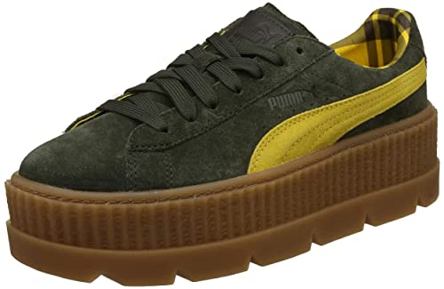 Puma Rihanna Cleated Creeper Suede 36626801, Deportivas: Amazon.es: Zapatos y complementos