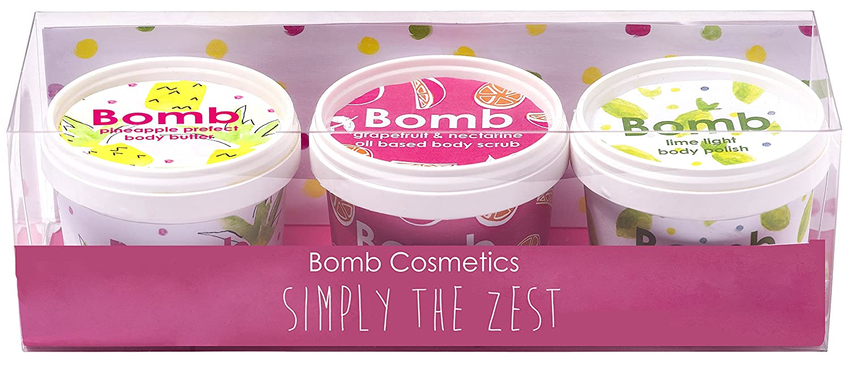 Bomb Cosmetics semplicemente la scorza fatto a mano in vaso confezione regalo GSIMZES04