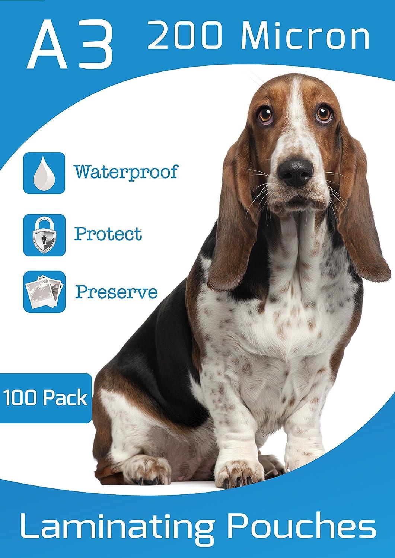 Plastificazione A3150micron, confezione da 100pezzi (150micron) Product Nation A3150100