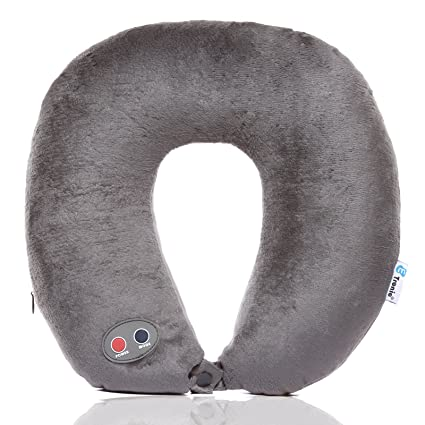 Other Health Care Supplies U Shaped Travel Pillow Neck Massage Cushion Battery Operated Stress Bead Relief