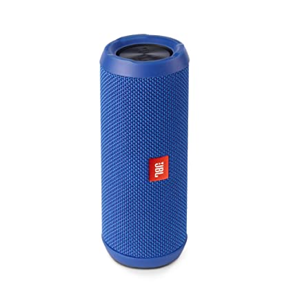 JBL Flip 3 Portable Wireless Speaker with Powerful Sound & Mic (Blue) Bluetooth Speakers at amazon