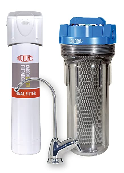 DuPont WFCH2 Universal Complete Home Filtration Kit - Faucet Mount ...