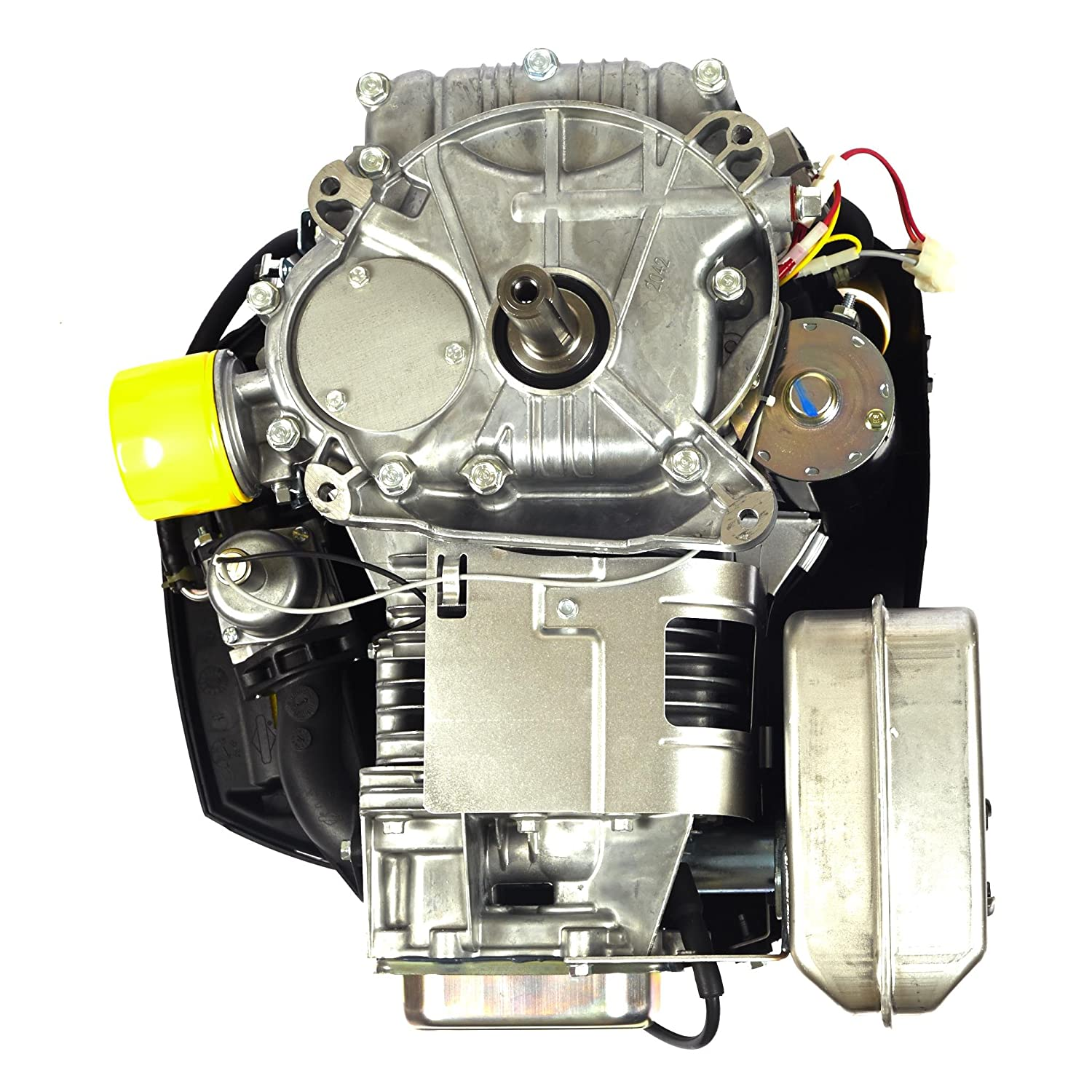 Briggs Stratton 540cc 19 Gross Hp Intek Vertical Ohv Engine With 1 Lawn Mower Carburetor Linkage Diagram Images Femalecelebrity Also Mtd D X 3 5 32 Patio Garden