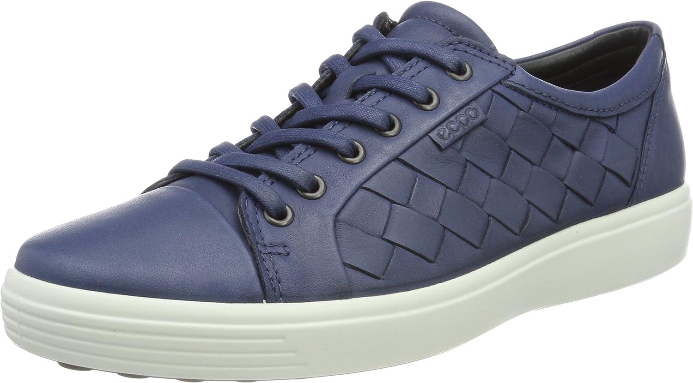 ECCO Men's Soft 7 Woven Tie Fashion Sneaker