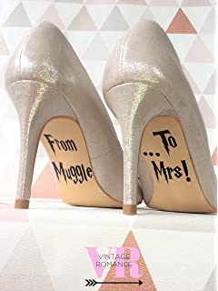 After All This Time Always Harry Potter Wedding Shoe Decal Sticker