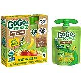 GoGo squeeZ Organic Applesauce, Apple Banana, 3.2 Ounce (48 Pouches), Gluten Free, Vegan Friendly, Unsweetened…