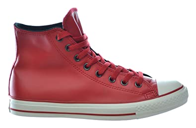 2f2c8f48fa60 Converse Chuck Taylor All Star Hi Leather Sneakers Blood Red Red 115638-13