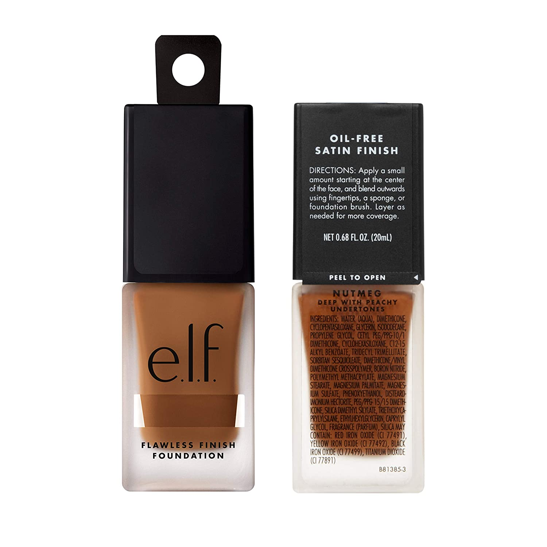 Amazon.com : e.l.f. Flawless Finish Foundation, Lightweight Oil ...