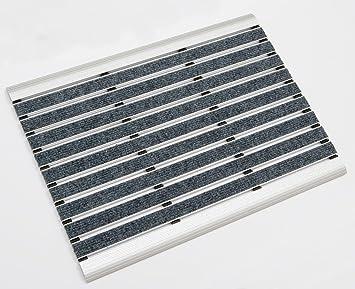 Fußmatten Für Draußen amazon de aluminium fußmatte innen und aussen alu fussmatten