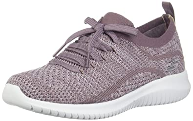 16ddac2342a7 Skechers Women s Ultra Flex - Statements Slip On Trainers