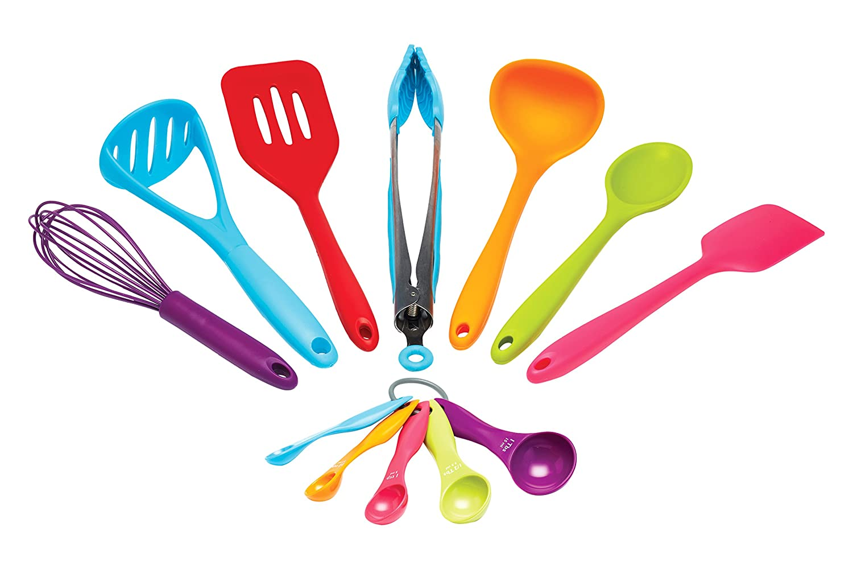 Kitchen Craft Colour Works Kitchen Tool Set, Pack Of 8: Amazon.co.uk:  Kitchen U0026 Home