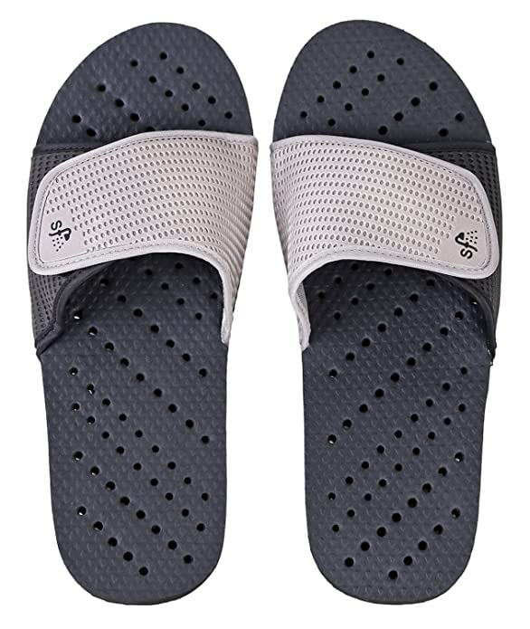 6. Showaflops Mens' Antimicrobial Shower & Water Sandals