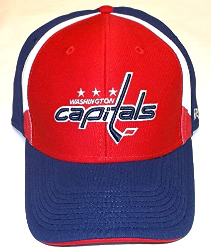 50f355c134e Image Unavailable. Image not available for. Color  Washington Capitals  Structured Flex Reebok Hat ...