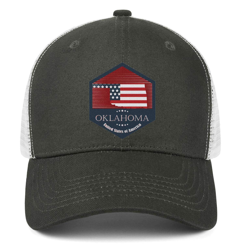 AkrCreative The Oklahoma Men//Women Style Baseball Hats Hip Hop Hat