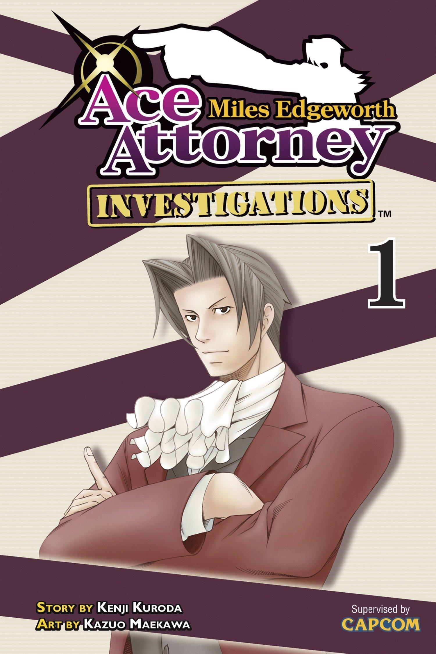 Miles Edgeworth Ace Attorney Investigations 1 Kenji Kuroda
