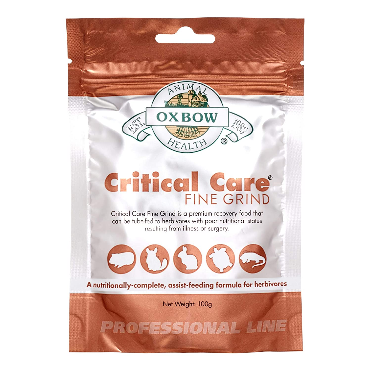 Oxbow Critical Care Professional Line 3.5 Ounces| Fine Grind | 1 Bag