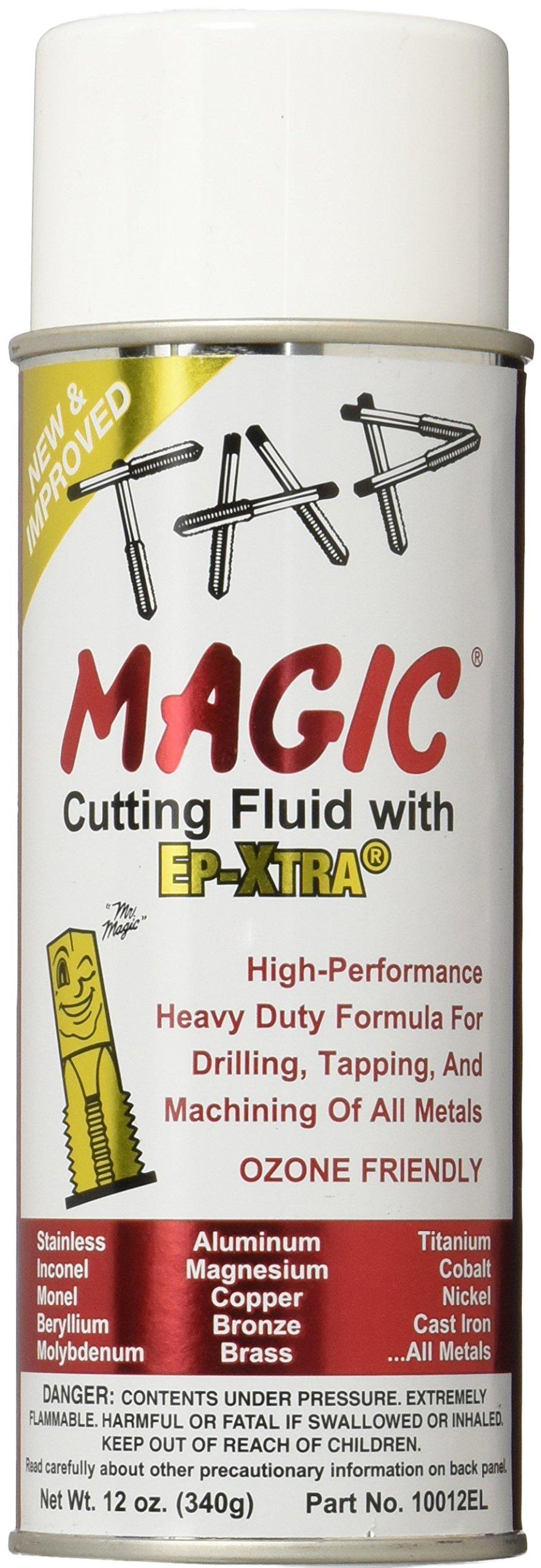 Tap Magic 10012EL Aerosol Tap Magic ozone Friendly, 12 oz, Yellow (Pack of 1)