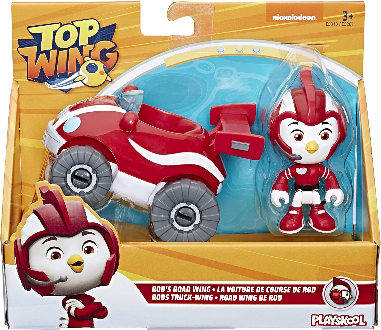 Top Wing - Rod Y Su Coche (Hasbro E5313ES2) , color/modelo surtido