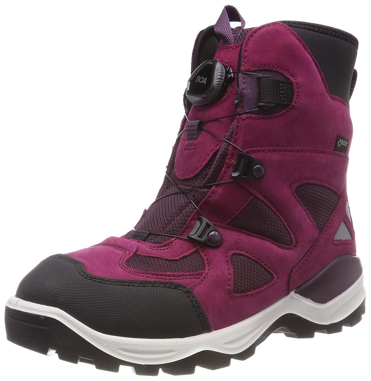 Ecco 24 Snow Mountain, Bottes de Neige Mixte Enfant 24 Ecco EU|Violett (Black/ Red Plum 52936) 1acced