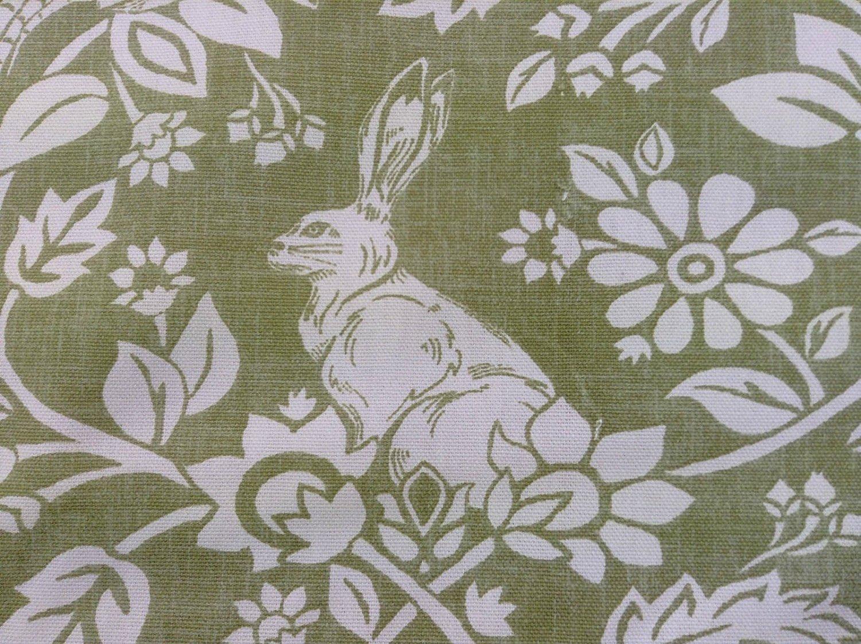 Tela De Algodón Cortina Tapicería textil Calidad liebres