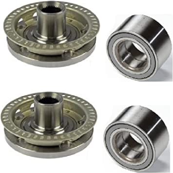 Amazon Com 8usauto Pair Front Left And Right Wheel Hub And Bearing Fit 1999 2000 2001 Volkswagen Jetta For All Model With 5 Studs Automotive