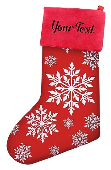 Custom Christmas Stockings.Amazon Com Custom Christmas Stockings Kids Christmas