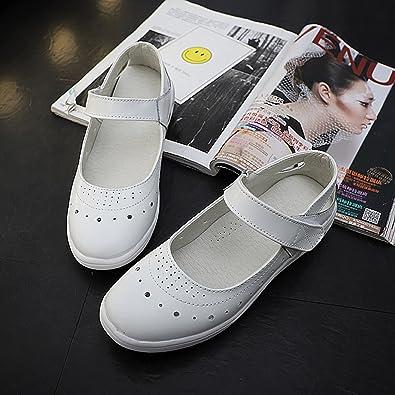 Amazon.com: Zomine - Zapatos de seguridad para enfermera ...