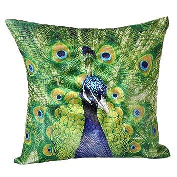 Amazon.com: Funda de almohada nxda, los patrones de pavo ...